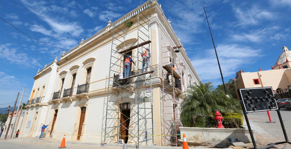 Rehabilitan Estado y Federación casco de Santiago