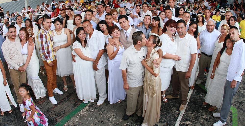Celebra Estado Bodas Colectivas en Penal Topo Chico