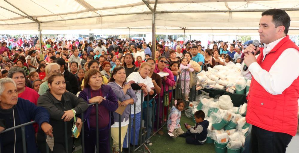 Conmemoran 10 mil personas 11o aniversario de las Brigadas Sociales Para ti