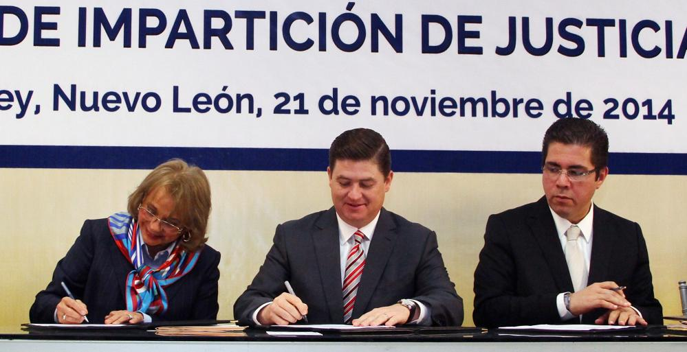 Ingresa Nuevo León al Pacto para introducir la Perspectiva de Género en el Poder Judicial