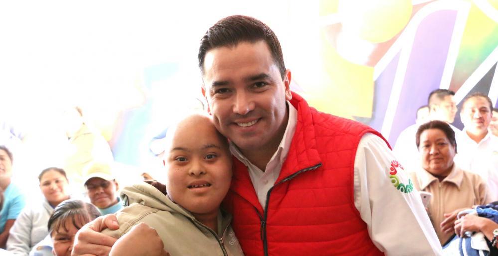 Integrará Estado a mil 300 beneficiarios más al Programa de Personas con Discapacidad