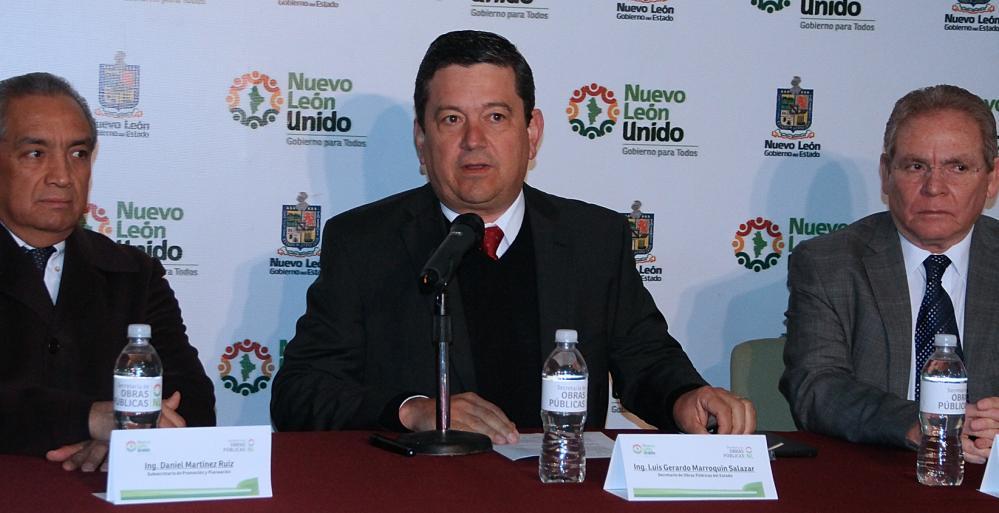 Luis Gerardo Marroquín Salazar, Secretario de Obras Públicas, dio a conocer este lunes el informe mensual sobre los avances de los trabajos que realiza el Estado durante el presente año.