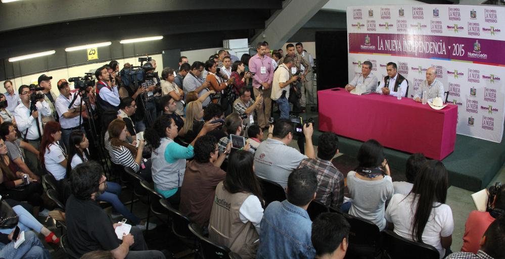 Jaime Rodriguez anuncia gabinete