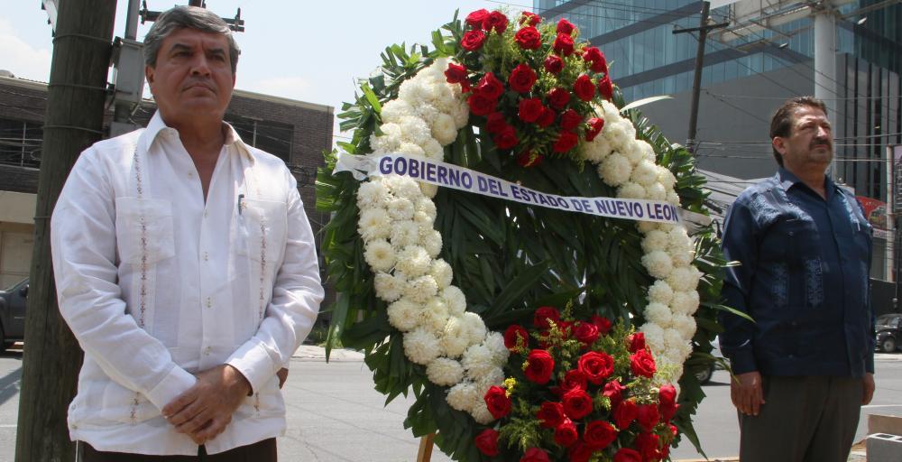 Realiza Estado guardia luctuosa por aniversario de tragedia en Casino Royale