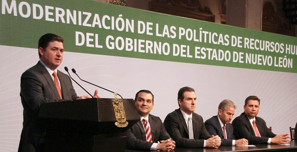 Modernizará Gobierno Estatal su política de Recursos Humanos