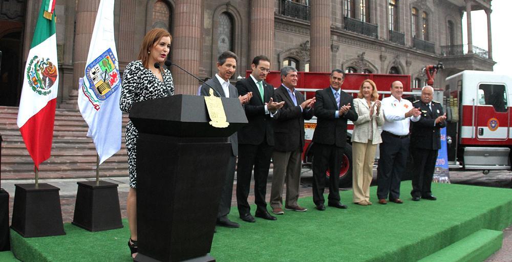 Inicia Gobernador Jaime Rodríguez Colecta Anual del Patronato de Bomberos de Nuevo León