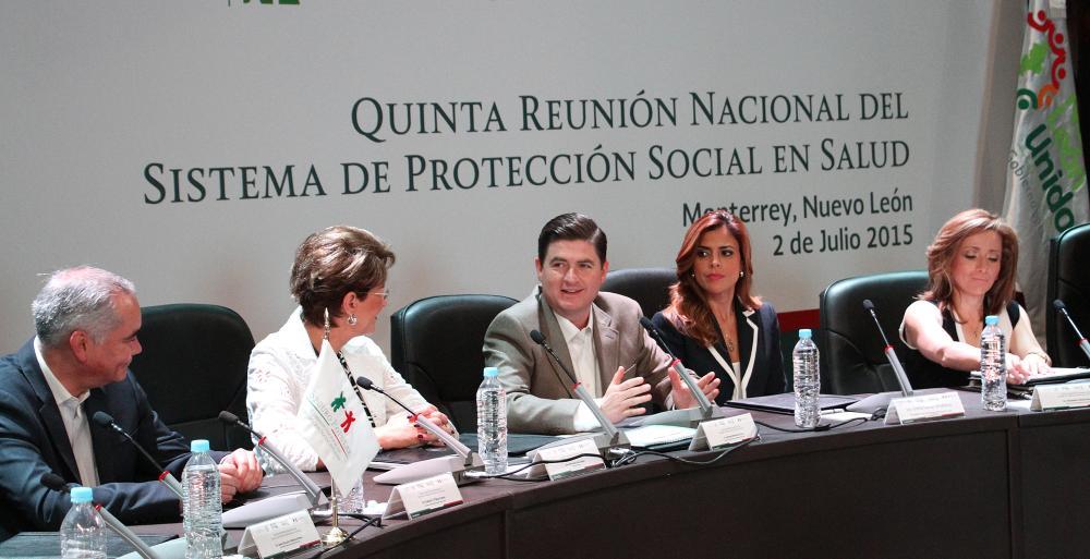Elogian trabajo de Nuevo León en materia de Salud.